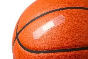 Basketball Injuries can include compound fractures