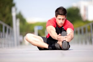 Man Stretching | Marathon Training | Atlanta Podiatry
