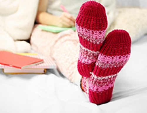 How to Keep Your Feet Warm this Winter