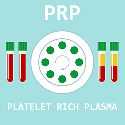 medical illustration for Platelet Rich Plasma (PRP)