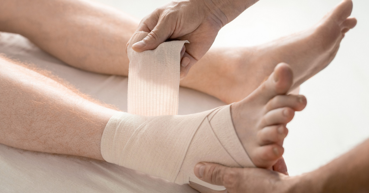 Read more about the article How to Wrap a Sprained Ankle